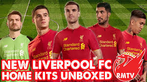 new balance liverpool home kit 2016 17 unboxing redmen tv special you