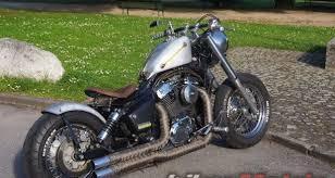 honda shadow vt1100 aero bobber bikermetric
