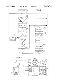 patent us5469715 defrost cycle controller google patents patent drawing
