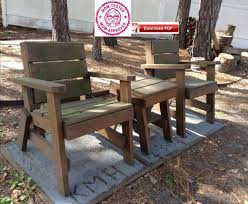 lawn chairs and table plan outdoor