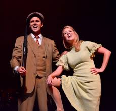 theatre preview bonnie and clyde musical theatre guild at the will collyer and ashley fox linton
