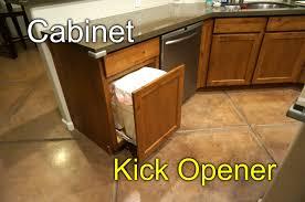 Cabinet Door Stops Cabinet Door Opener Kick To Open Youtube