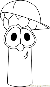 Small Picture VeggieTales Coloring Pages