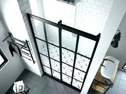 steel framed shower doors steel framed shower doors black shower door series 1 eclipse barn door