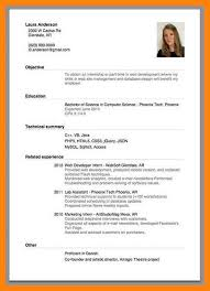 8+ resume format for job application first time | manager resume