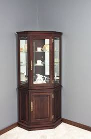 corner curio cabinet ikea display shelves with glass doors display case furniture dining room display cabinets