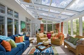 modern sunroom designs. Renowned Sunroom Treatment Ideas For Relaxing Time. Nice-looking Long Scheme Modern Designs S