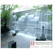 waterwall feature outdoor water wall feature water wall fountain garden water wall outdoor water fall stone