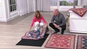 ruggable noor choice of size 2pc washable rug system on qvc