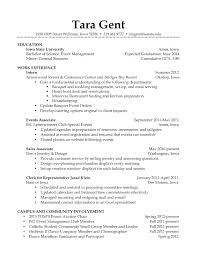 Barista Resume Objective Ekizbiz Resume