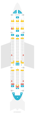Seat Map Boeing 787 8 788 Ethiopian Airlines Find The
