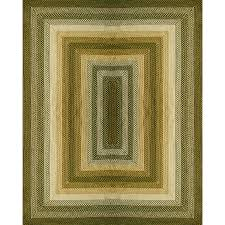 style selections braided rug rectangular indoor outdoor braided area rug