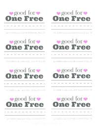 Homemade Coupon Book Template Valentine For Custom Coupons