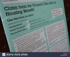 Housing Benefit Form Housing Benefit Stock Photos Housing Benefit Stock Images Alamy 2