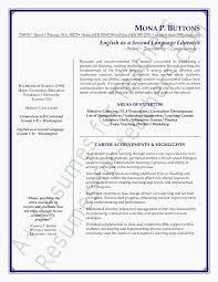 Esl Teacher Resumes Teachers Resume Format Resume Writing Education