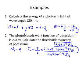 equation to find energy of a photon with given wavelength jennarocca