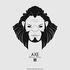 logo axe mogul khan dota 2 by ritchyzz on deviantart