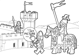 Small Picture Duplo knights coloring page for kids printable free Lego Duplo