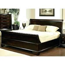 king size sleigh bed faux leather sleigh bed king size verelini co