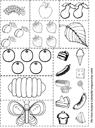 Small Picture Hungry Caterpillar Coloring Sheet Template Coloring Coloring Pages