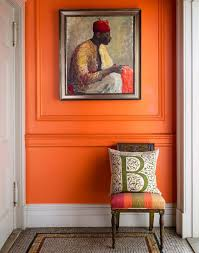 Shades of orange paint Happiest Colour Farrowballcharlotteslocksorangepaint Graf1xcom 20 great Shades Of Orange Wall Paint and Coral Apricot Kumquat
