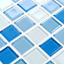 pool tiles mosaic glass mosaic for swimming pool tile blue white mix crystal decorative art wall