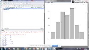 R Studio Create Bar Chart