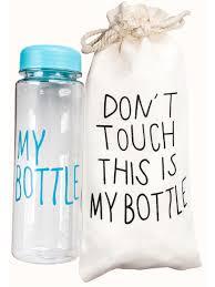 <b>Бутылка</b> для воды в подарочном мешочке Castlelady 5590080 ...