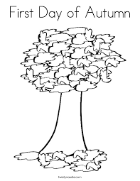 Small Picture Fall Coloring Page Tree Coloring Pages Coloring Coloring Pages