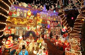 Alex Goodwind's house is situated in Melksham, England. He starts planning  lights in July and has spent 3,000 GBP this 2008 year alone on the lights  that ...