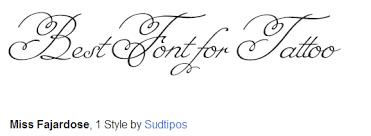 70 Nejlepší Tattoo Fonty
