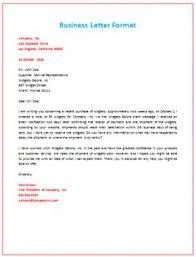 Proper Business Letter Format 10 Best Business Letter Format Images Business Letter Template