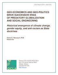 Pdf Geo Economics And Geo Politics Drive Successive Eras Of