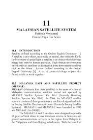 C Band Transponder Frequency Chart 11 Malaysian Satellite System Fatimah Mohamad Hanin Dhiya