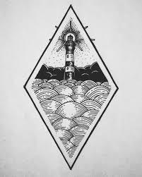 Lighthouse Sketch Tattoo Sea идеи для татуировок татуировки и
