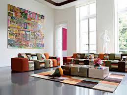 Colorful Living Room Furniture Sets Interior Impressive Decoration
