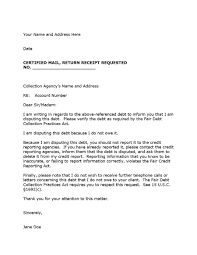 free collection letter template 12