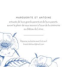 Carton Dinvitation Mariage Ombres Florales Rosemood Be