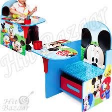 kids desk chair educational toys activity table storage bin