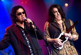 kiss gene simmons and paul stanley promote rock and roll lifestyle dental hygiene