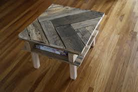Elmeru0027s Crafters Project  Industrial Pallet Coffee TablePallet Coffee Table