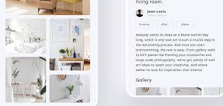interior design xd app template