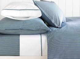 blue and white striped sheets. Modren White In Blue And White Striped Sheets R