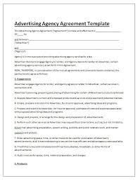 Advertising Contract Template | Contract Agreements, Formats & Examples