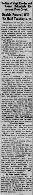 Virgil Otis Rhodes - Newspapers.com