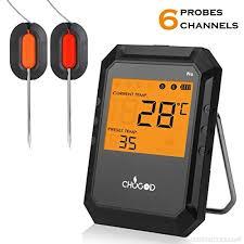 Thermomètre De Barbecue Cuisine Bluetooth Universel Professionnel 6
