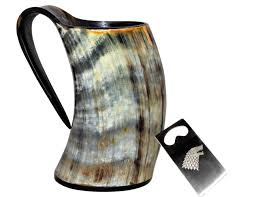 5moonsun5 s viking drinking horn cup tankard handcrafted ox cup goblet drink mead beer like game of thrones heroes with this large ale stein a perfect
