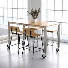 Small Picture Kitchen Table And Chairs With Wheels Keywords To Design