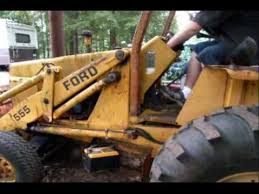 ford 1977 555 backhoe first start in 2 plus years part 1 ford 1977 555 backhoe first start in 2 plus years part 1