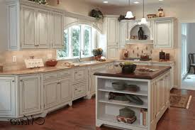 kitchen country rustic kitchens polished wooden flooring white acrylic udnermount sink simple brass chandelier sleek
